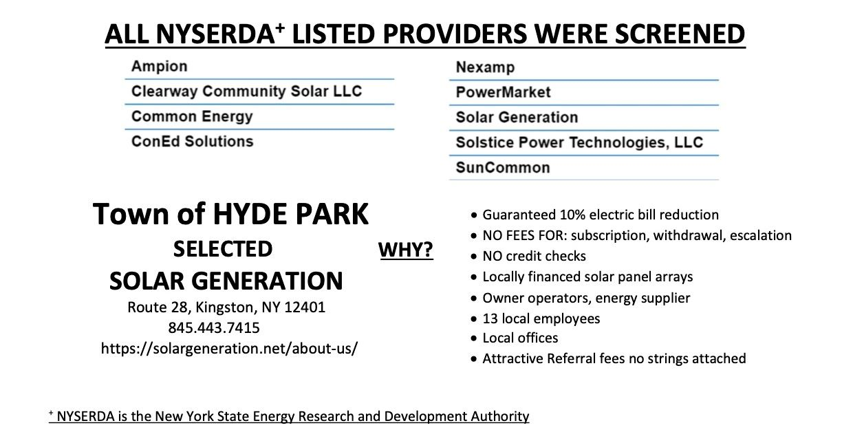 Community Solar Informational Flyer Part 2