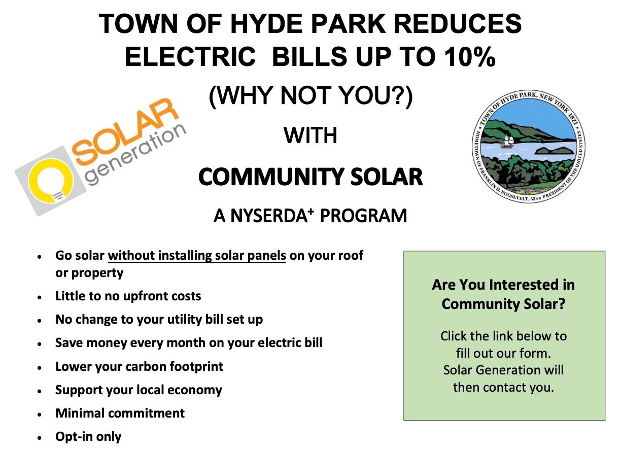 Community Solar Informational Flyer Part 1